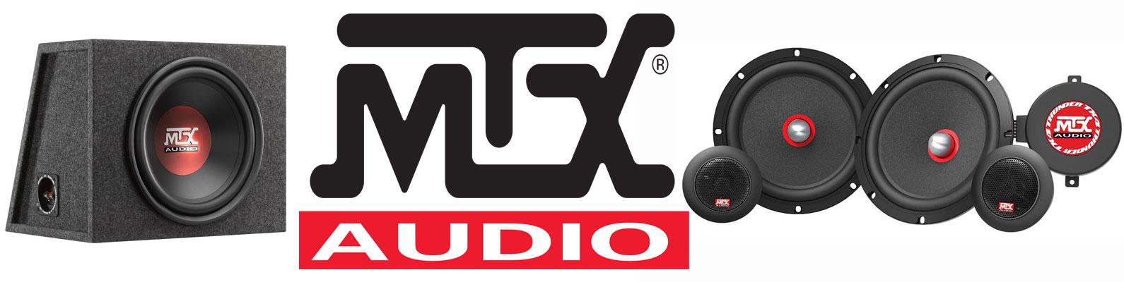 Профессиональная акустика для автомобилей MTX Audio