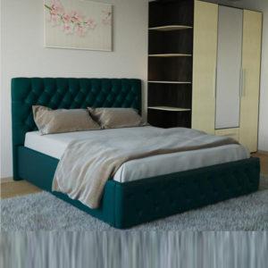"""Кровать """"Версаль"""" с ортопедическими латами"""